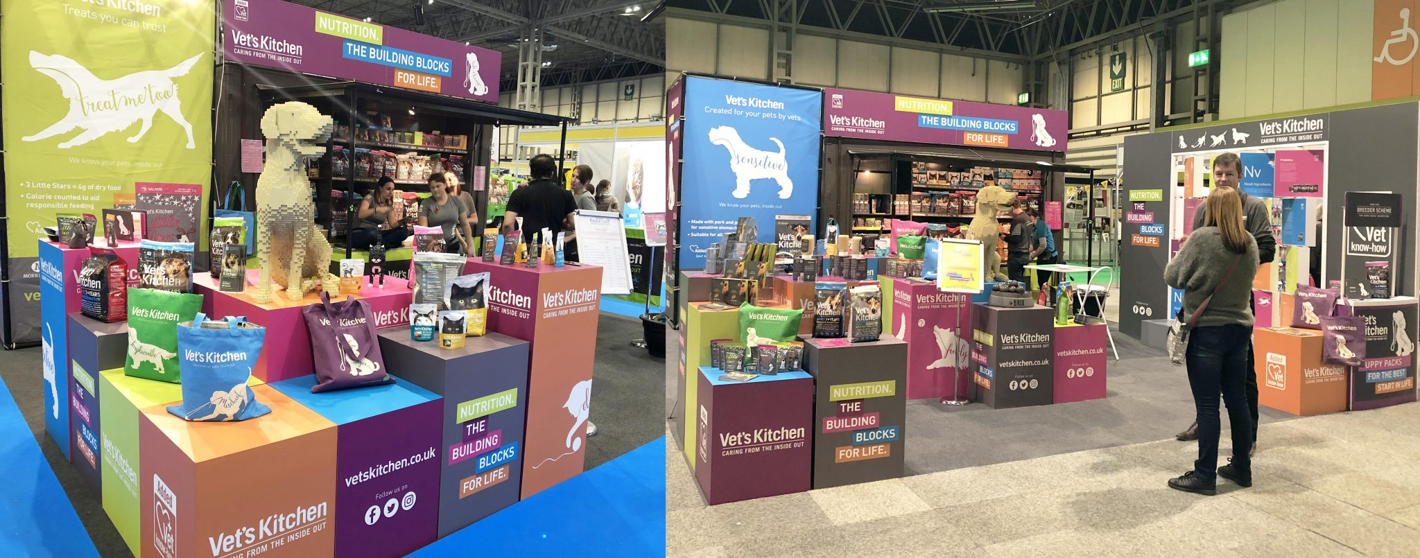 We have planned, executed and analysed a number of indoor consumer events for Vet's Kitchen, including the world's biggest dog show, Crufts!